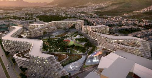 Проект жилого комплекса в Мексике