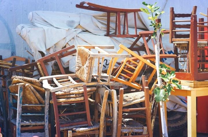 Идеи для декора и оформления старых стульев