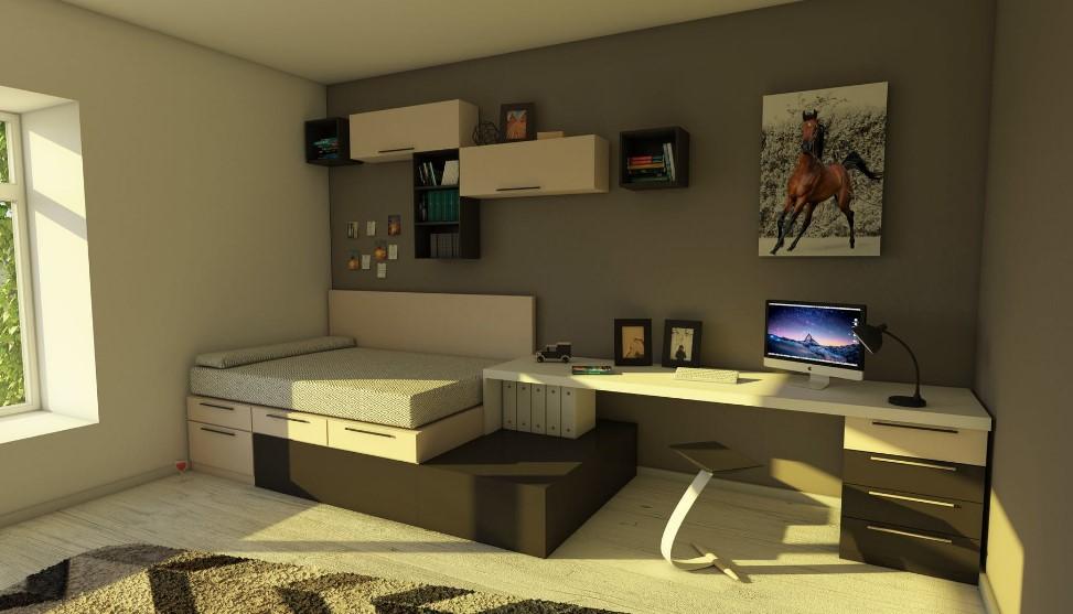 Идеи по оформлению спальни подростка - Ремонт