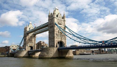 Тауэрский мост, река Темза