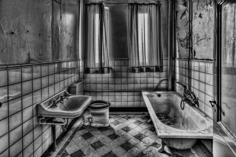 Старая ванная комната