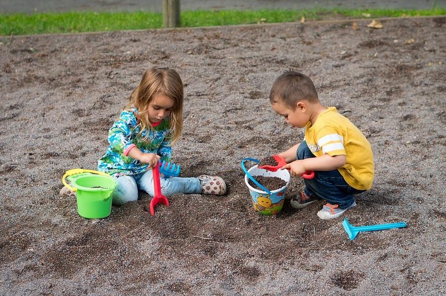 Детская песочница своими руками
