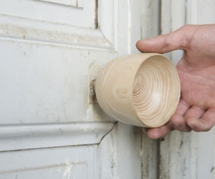 Дверная ручка из дерева своими руками