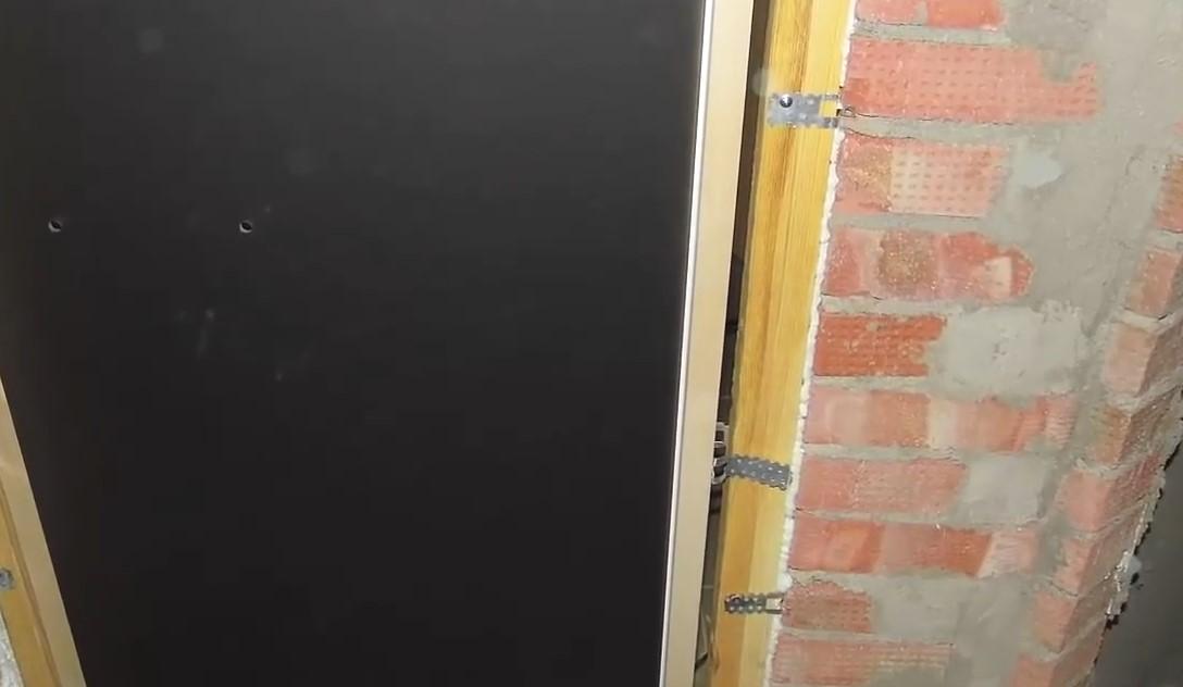 Установка стеклянной двери для бани своими руками