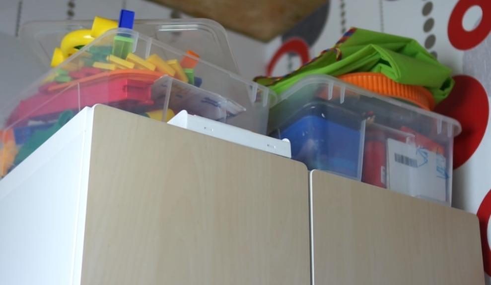 Хранение детских игрушек: 7 необычных идей - Стройка
