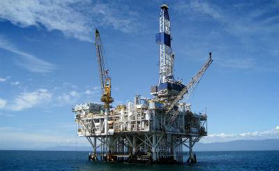 Добыча газа на море