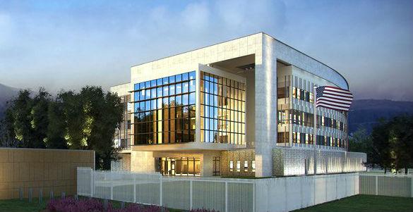 Проект посольства США в Ашхабаде