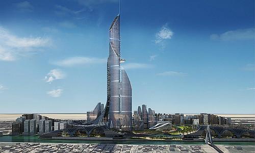 """Самое высокое здание в мире """"Невеста залива"""", Ирак"""