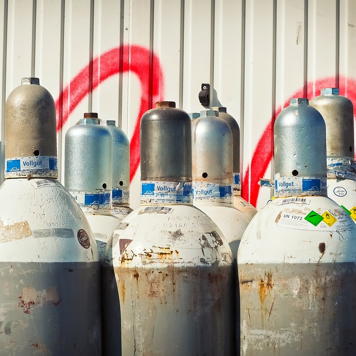 Устройство газового баллона пропан в разрезе