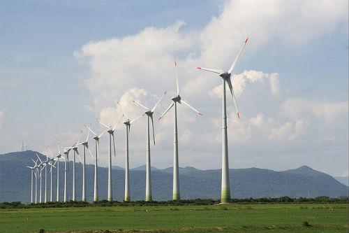 Ветропарк, турбины