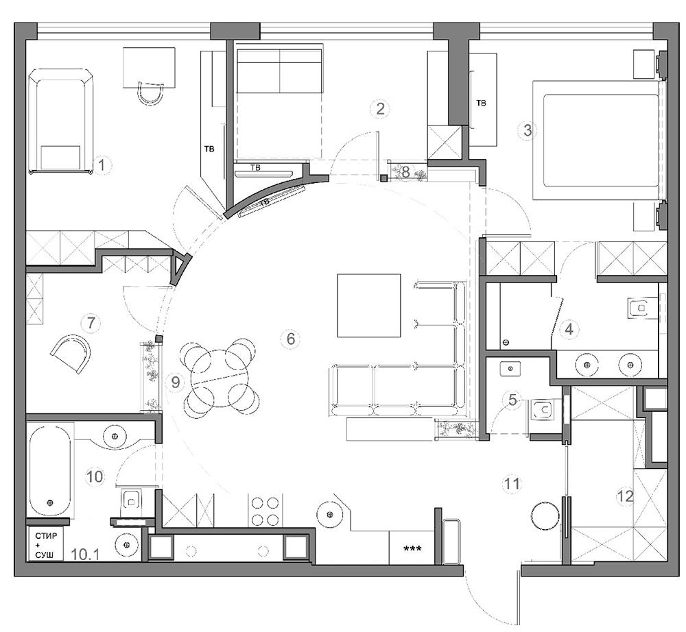 Как сделать план квартиры фото 678