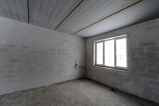 Фото квартиры с черновой отделкой