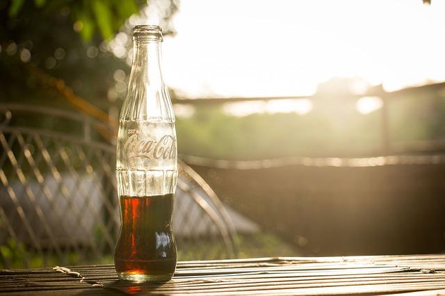 Кока Кола, бутылка